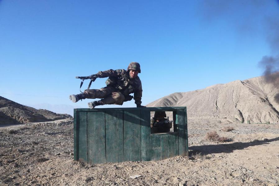 КНР строит вАфганистане военную базу награнице сСинцзяном