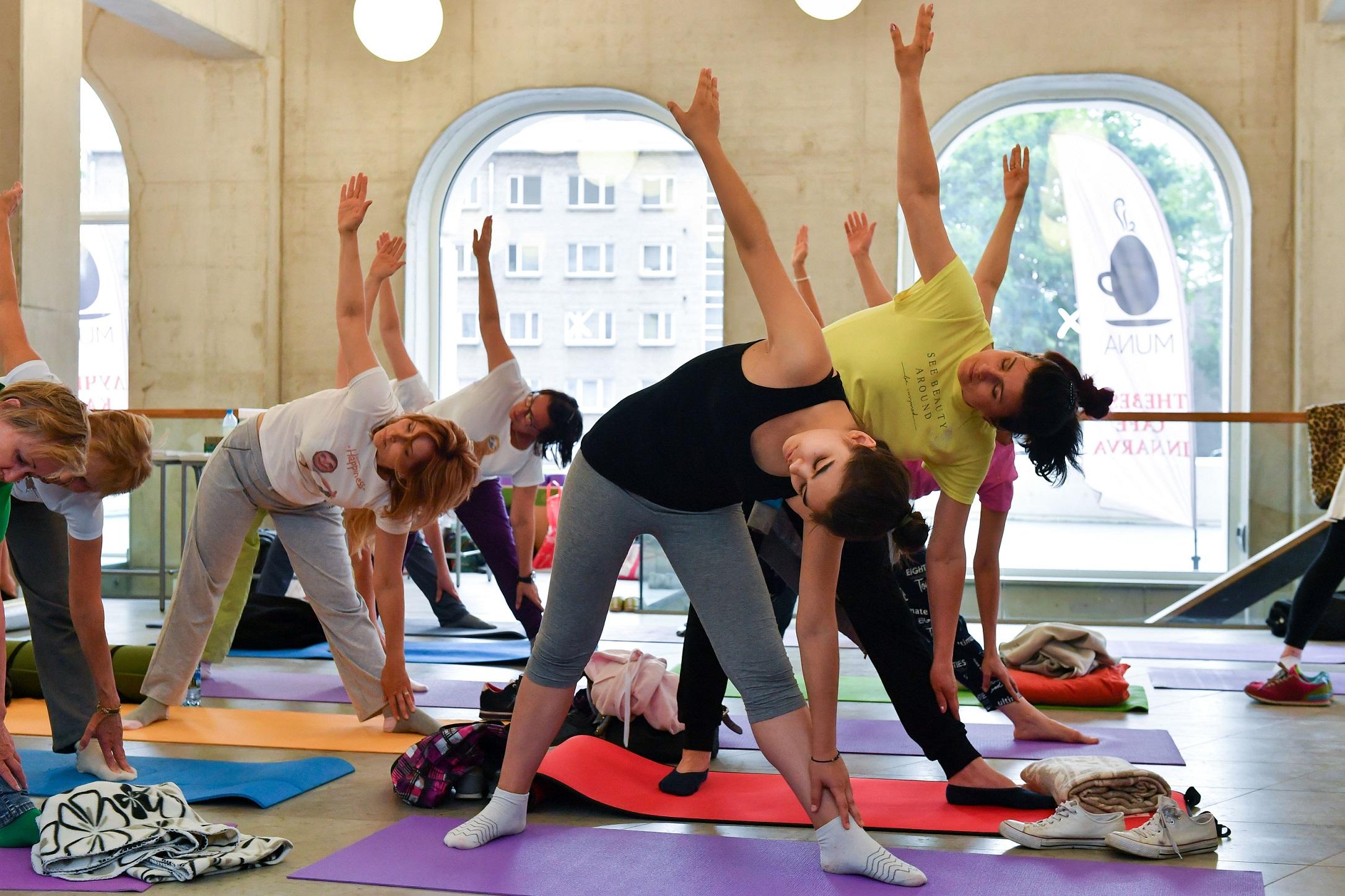 Фитнес центр йога иркутск