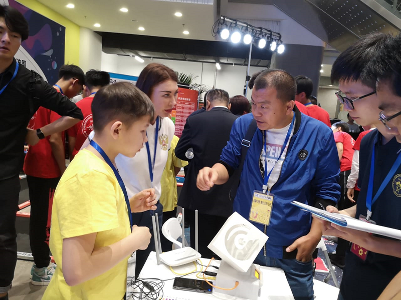 Young inventors from Russia have won in China