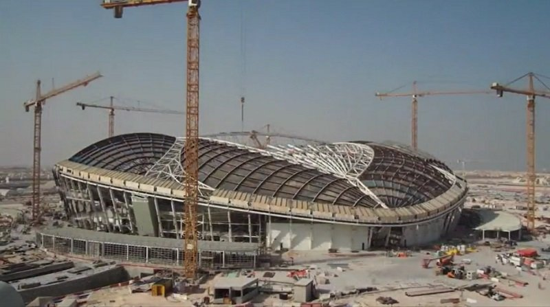 Qatar has built the first new stadium to host world Cup FIFA 2022