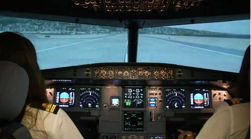 In Lebanon made flight operations first female pilot