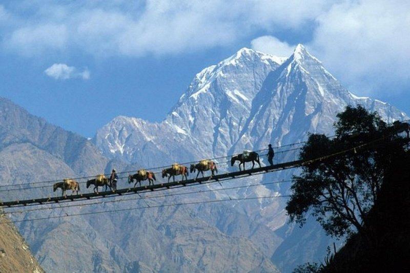 картинка фотография курорта Тибет в Китае